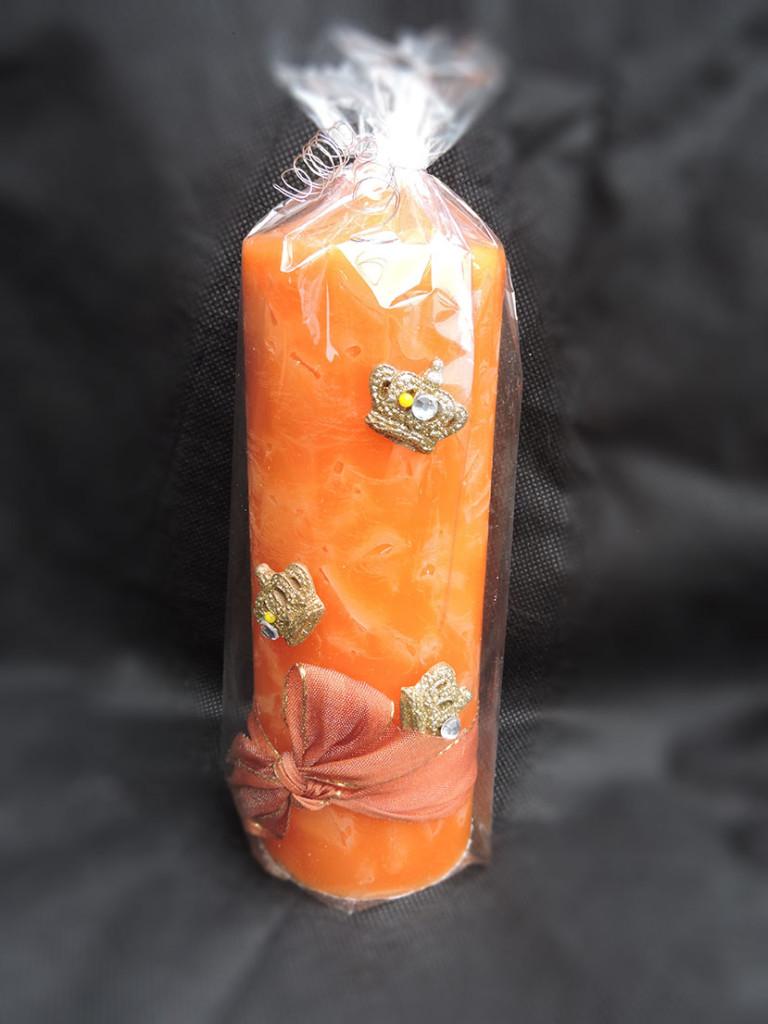 Orange Kerzen